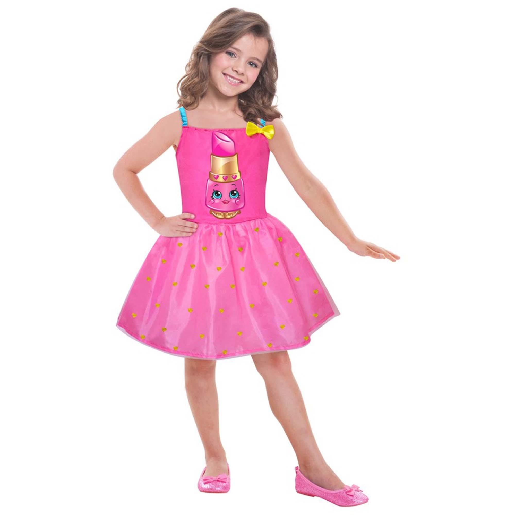Shopkins Lippy Costume 8-10 yrs