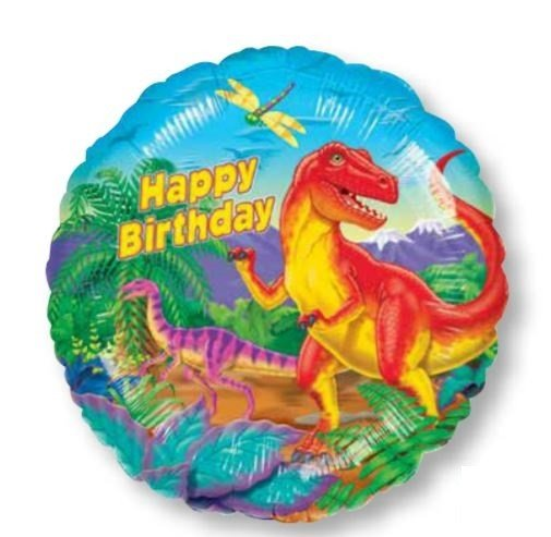 45cm Standard XL Dinosaur Party S40