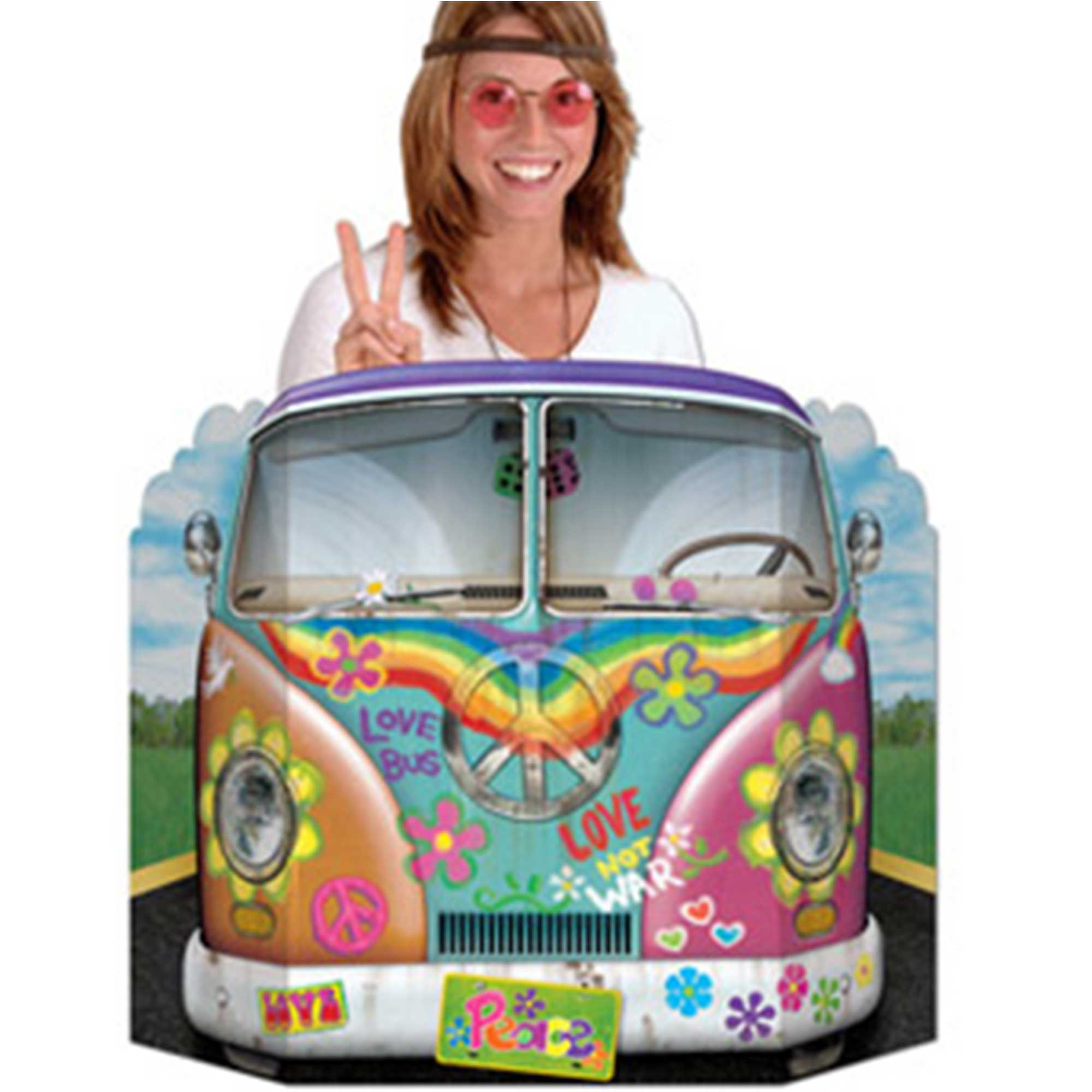 60's Hippie Combie Bus Photo Prop