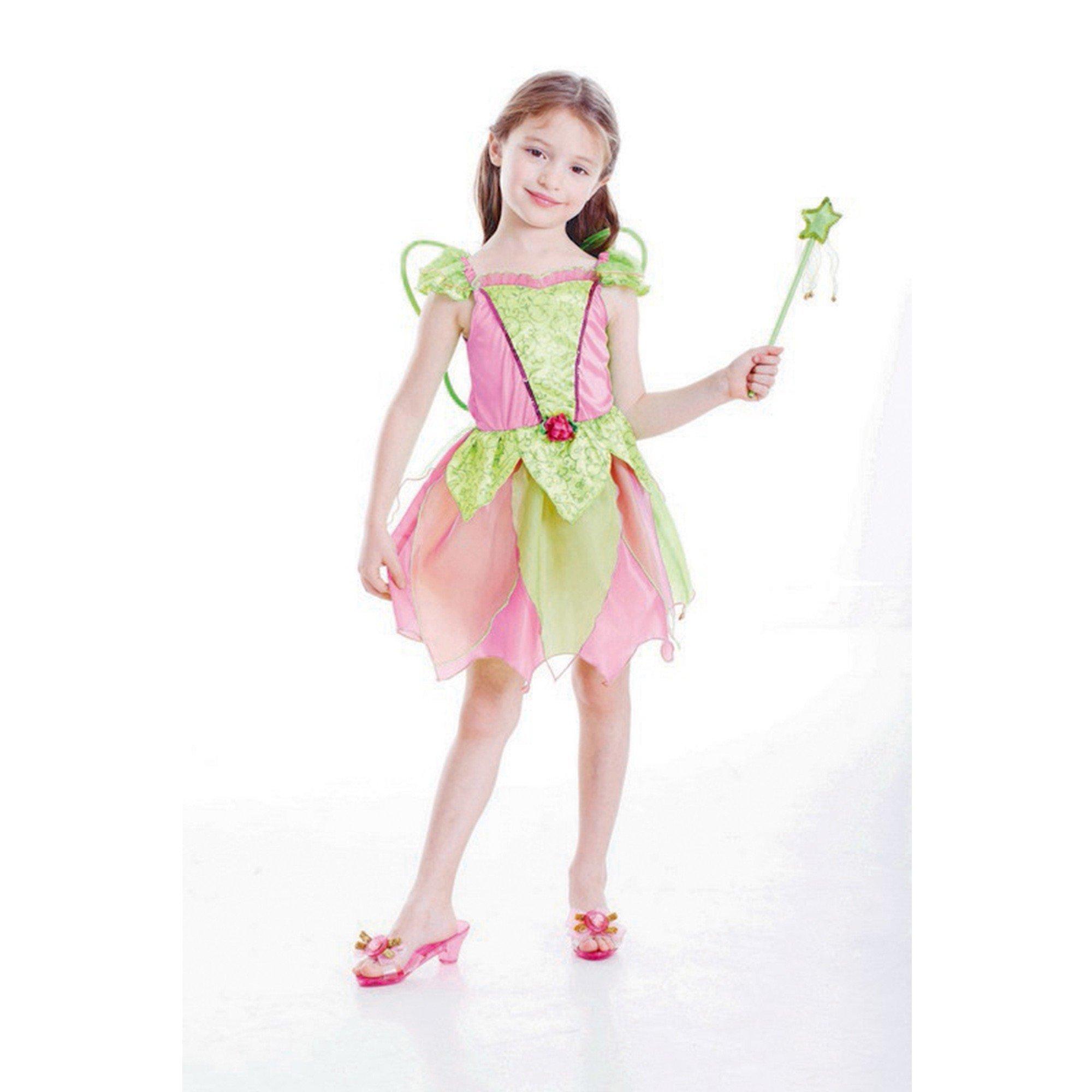 Garden Fairy Girl Costume (Large) 6-8 yrs