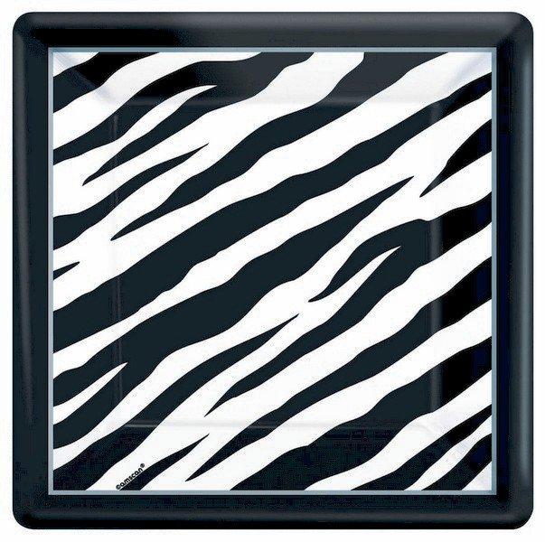 Zebra MID  Pack 23cm Square Plates