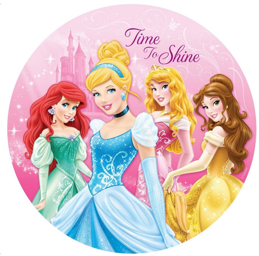Princess Sparkle 23cm Plate