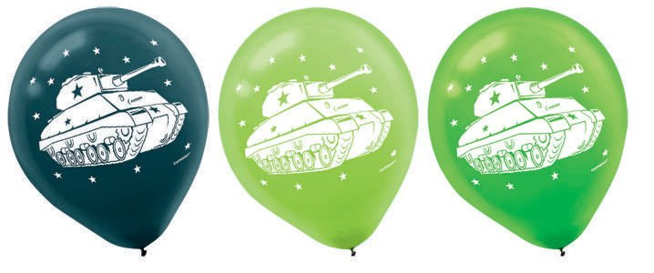 Camouflage 30cm Latex Balloons