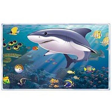 Backdrop Aquarium & Shark Scene Setter