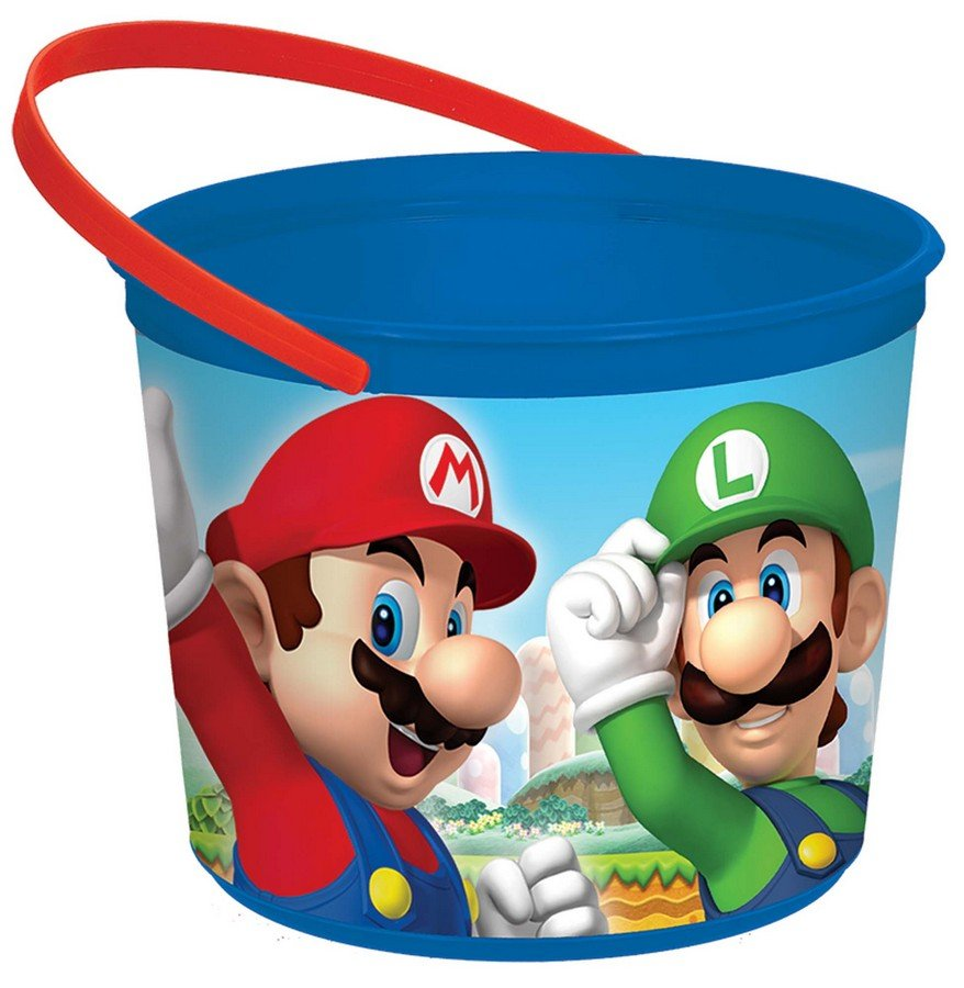 Super Mario Brothers Favor Container