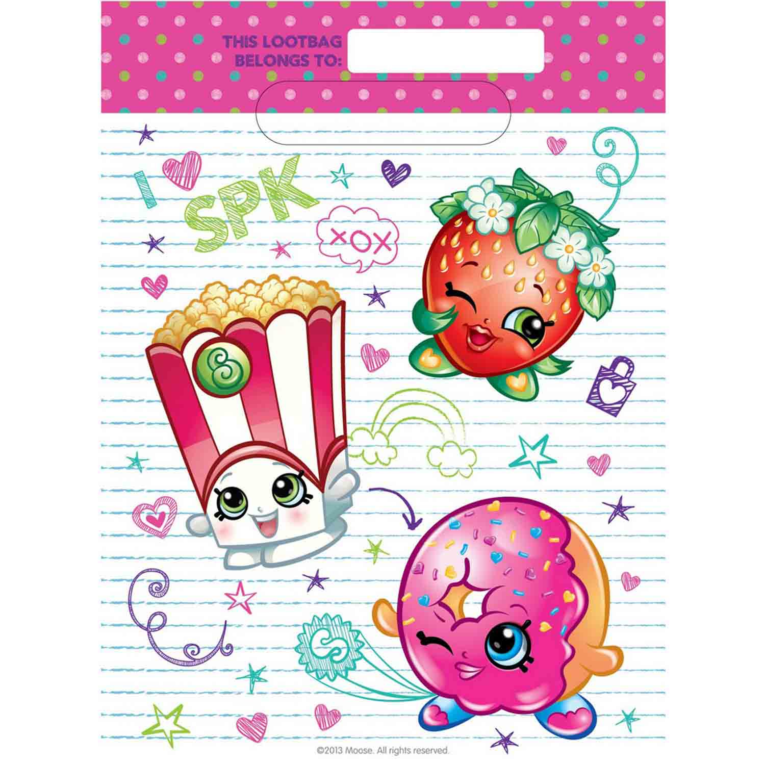 Shopkins Loot Bag