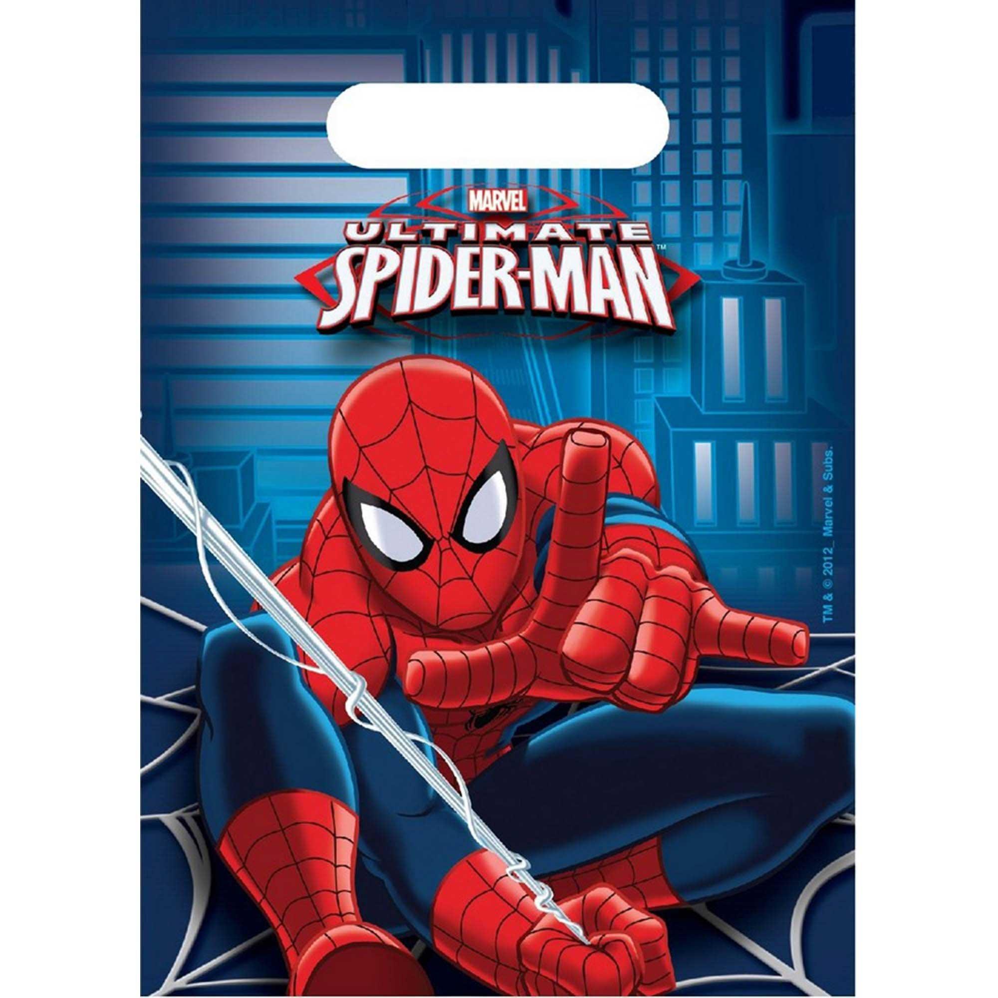 Ultimate Spider-Man Loot Bag