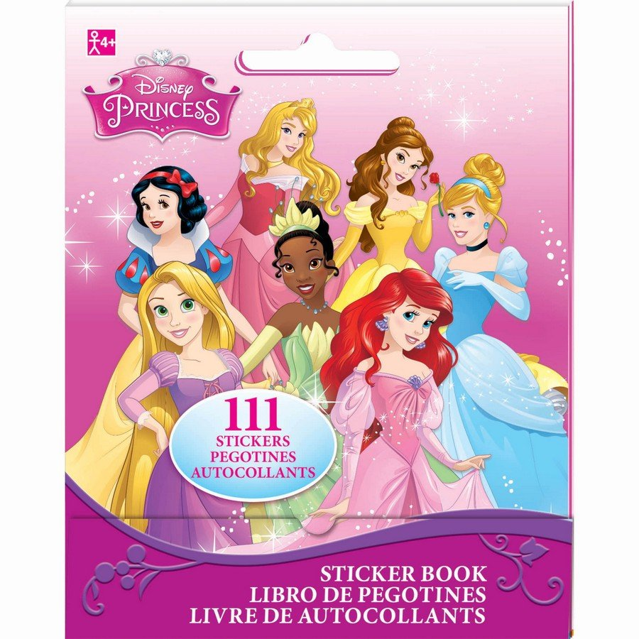 Sticker Booklet Disney Princess