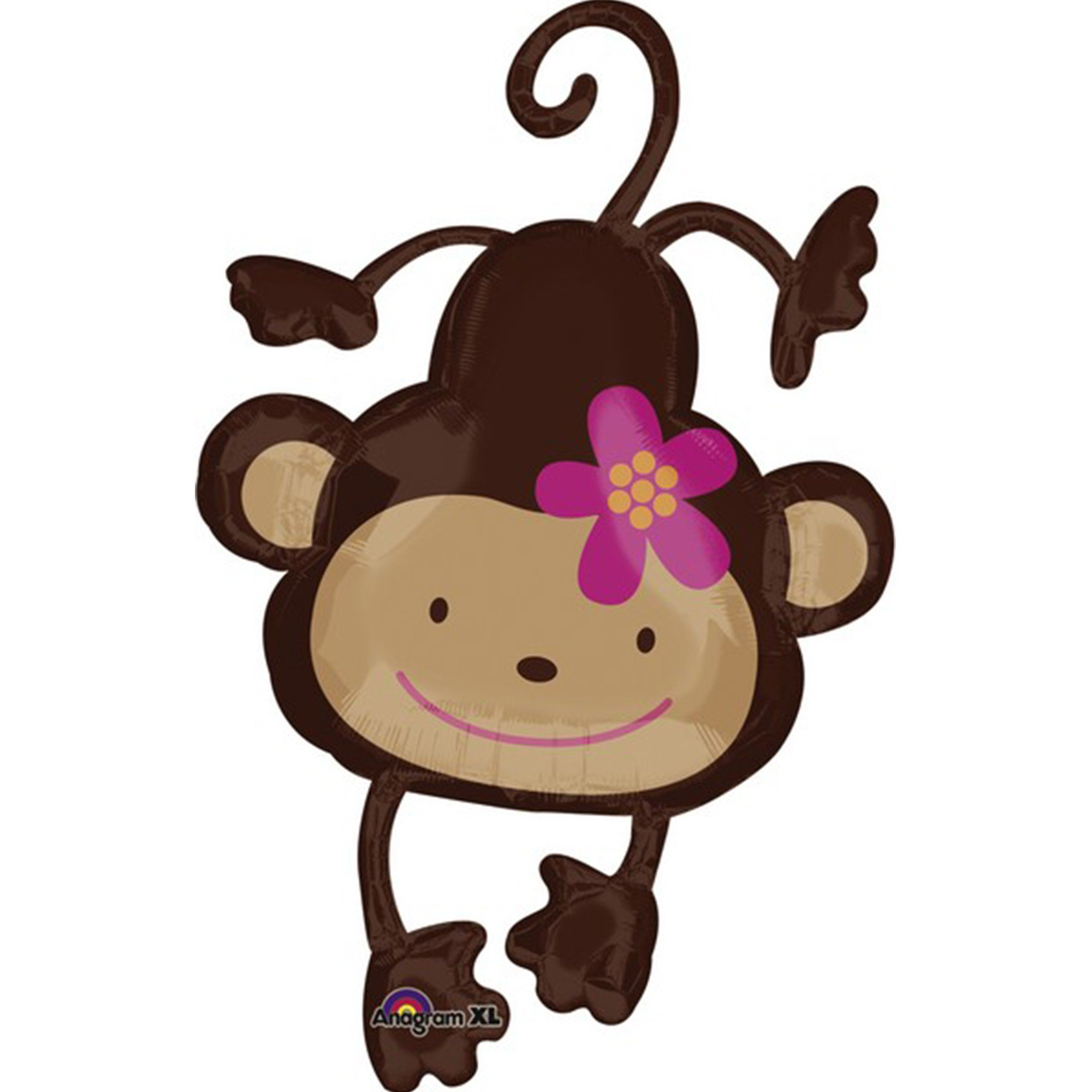 SuperShape XL Monkey Love P35