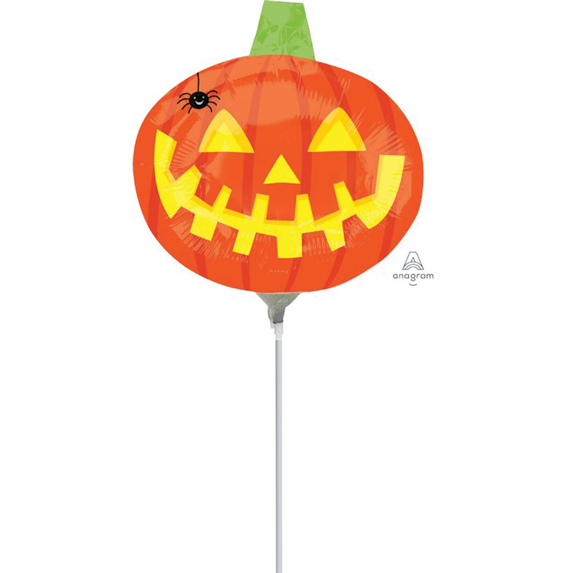 Mini Shape Pumpkin With Spider A30