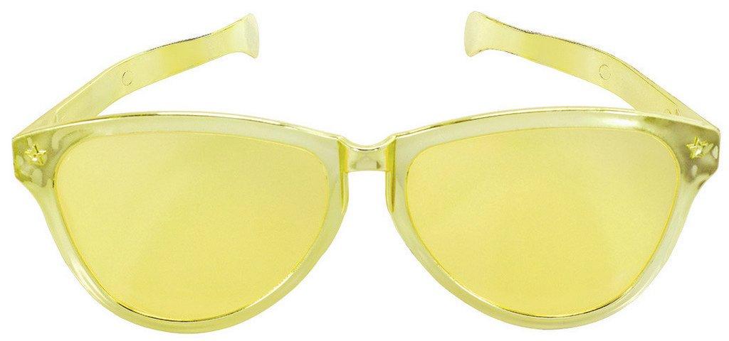 Jumbo Glasses - Gold