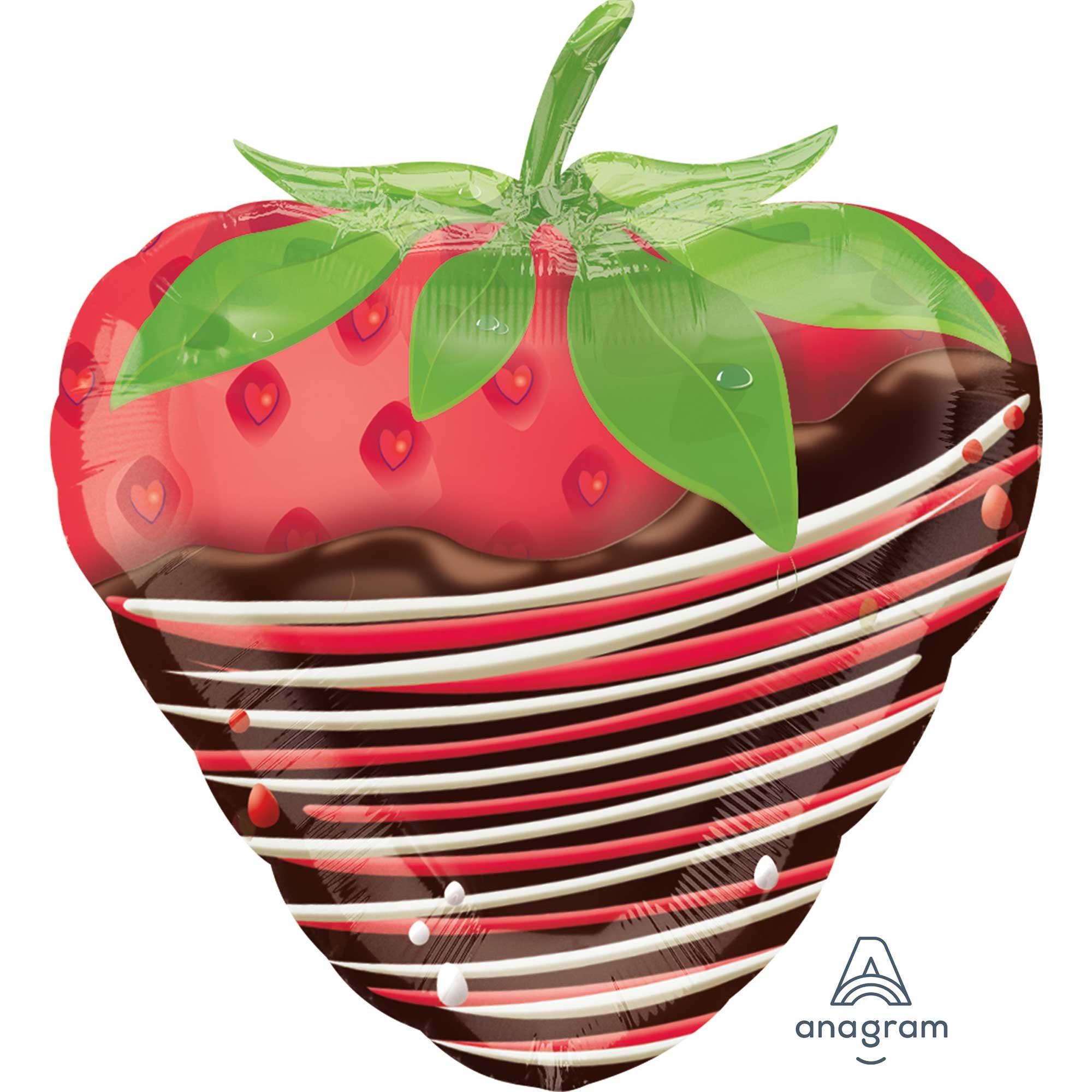 Junior Shape XL Chocolate Dipped Strawberry S50
