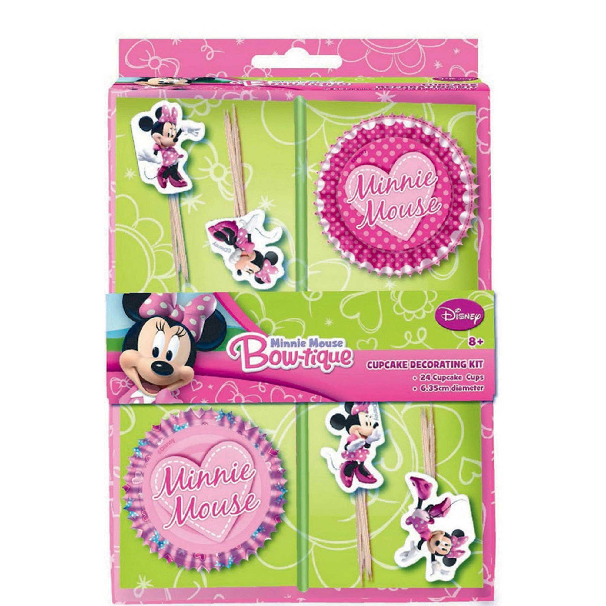 Minnie Mouse Cupcake Kit