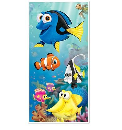 Under the Sea Tropical Fish Door Cover