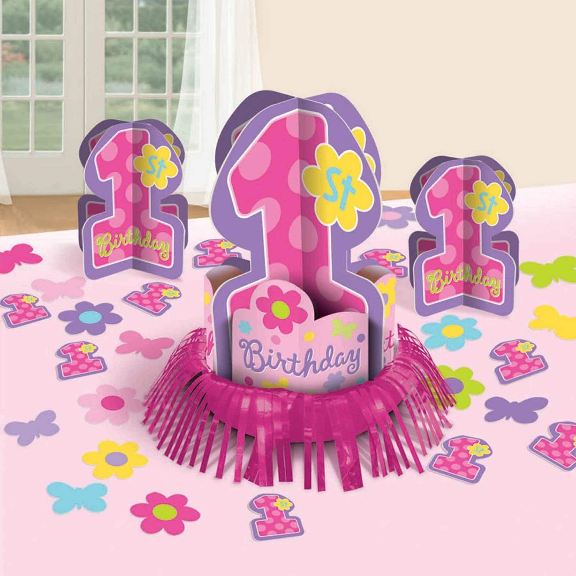 One-Derful Girl Table Decorating Kit