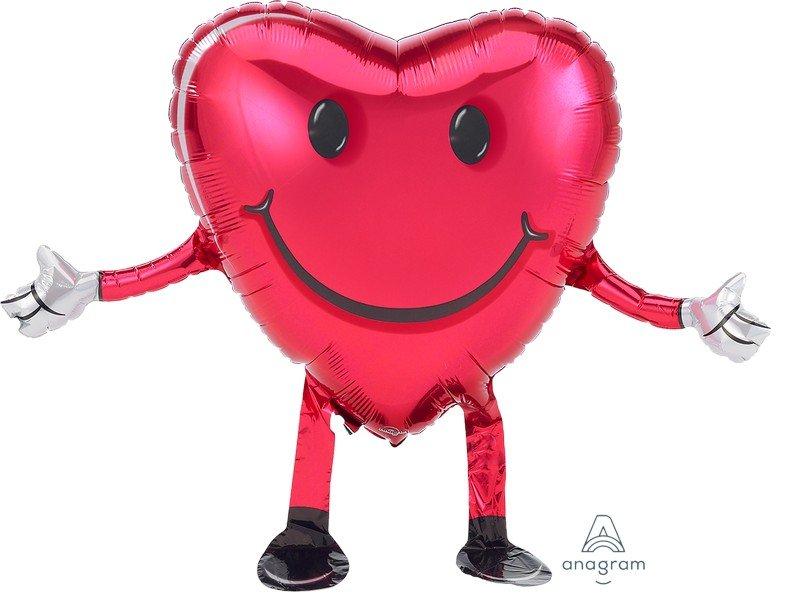 AirWalker Buddies Happy Hugs Smiley Face P40