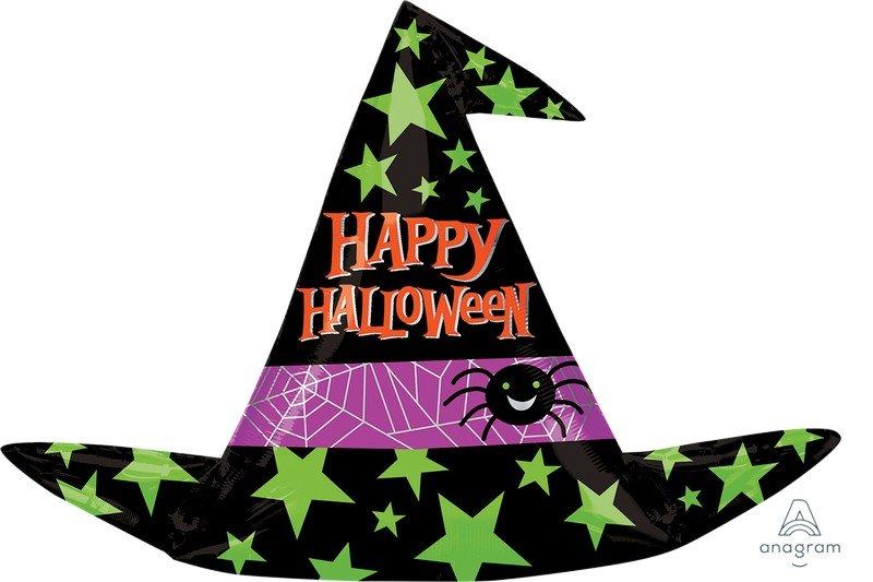 SuperShape Happy Halloween Witch Hat P35