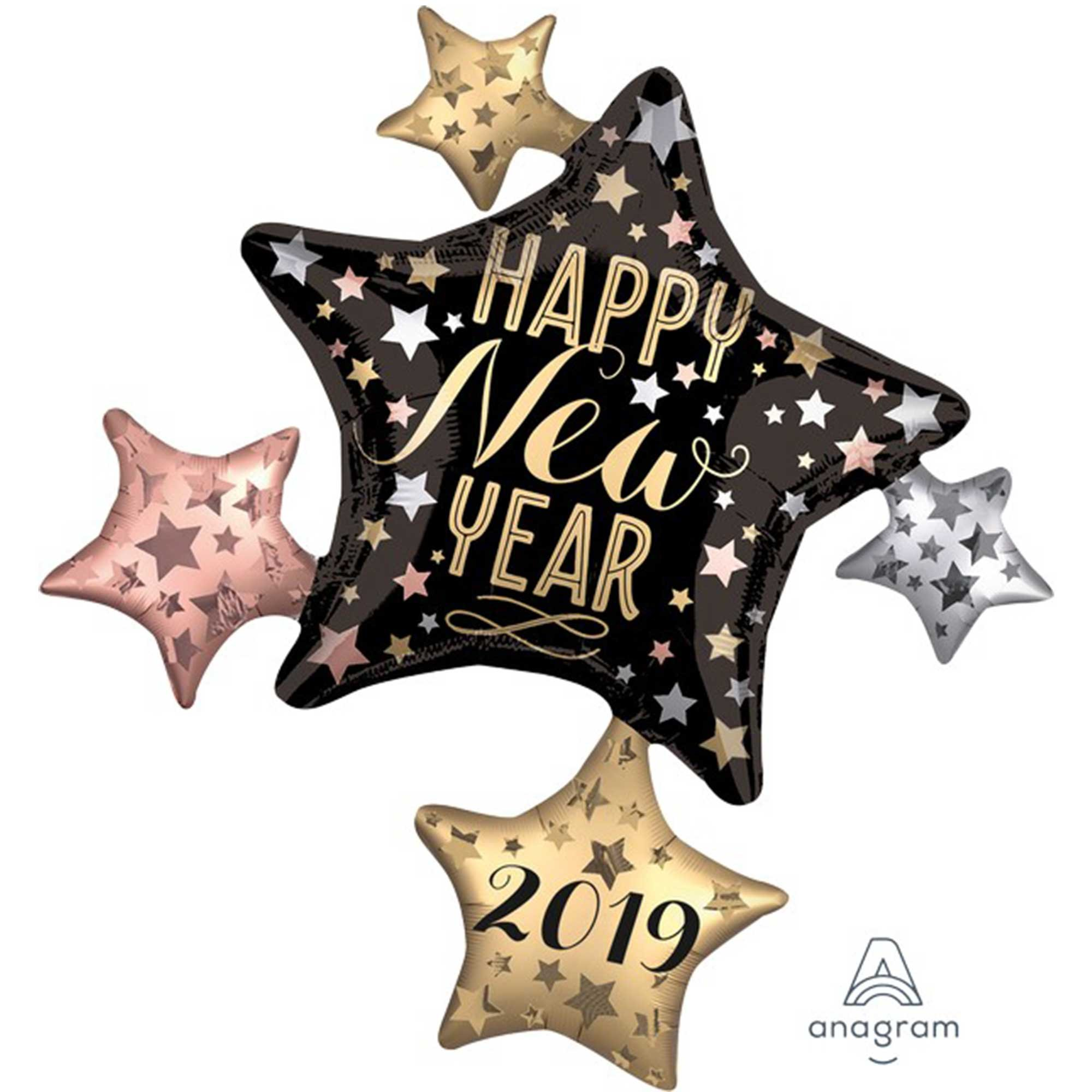 SuperShape XL 2019 Satin New Year Cluster P40
