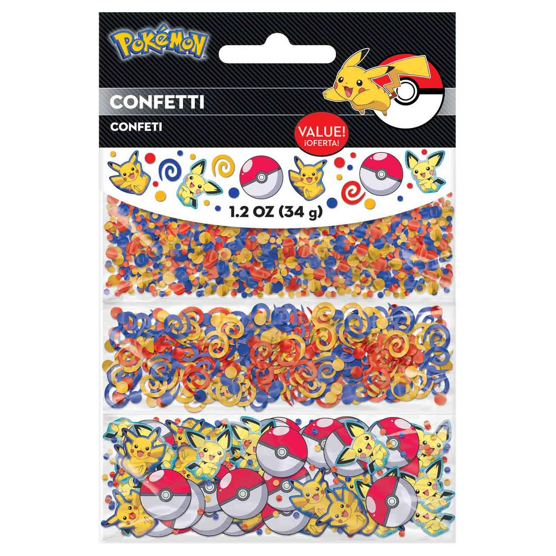Pokemon Core Confetti Value Pack 1.2oz / 34g Foil & Cardboard Pieces