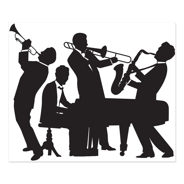 Backdrop Great 20's Jazz Band Scene Setter