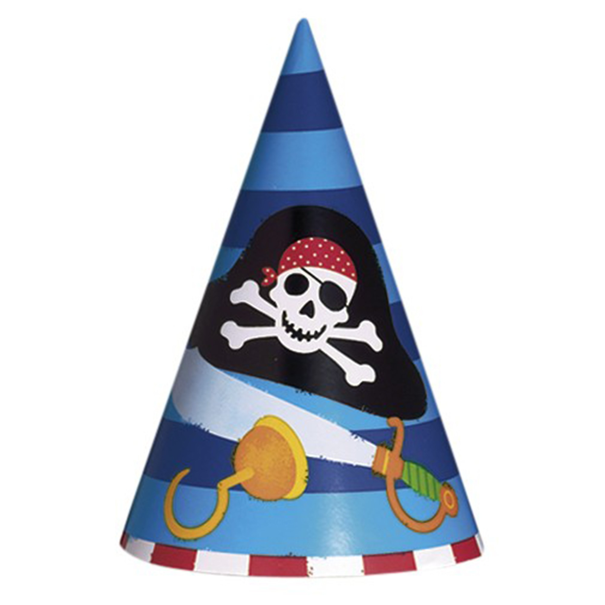 Pirate Party Paper Hats