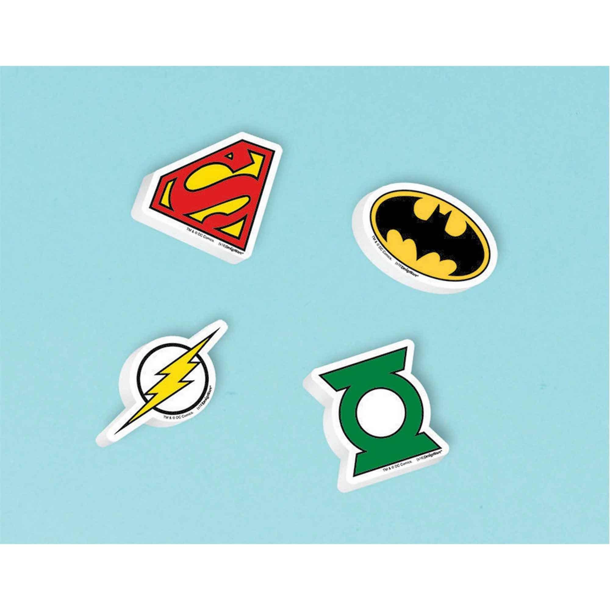 Justice League Eraser Favors