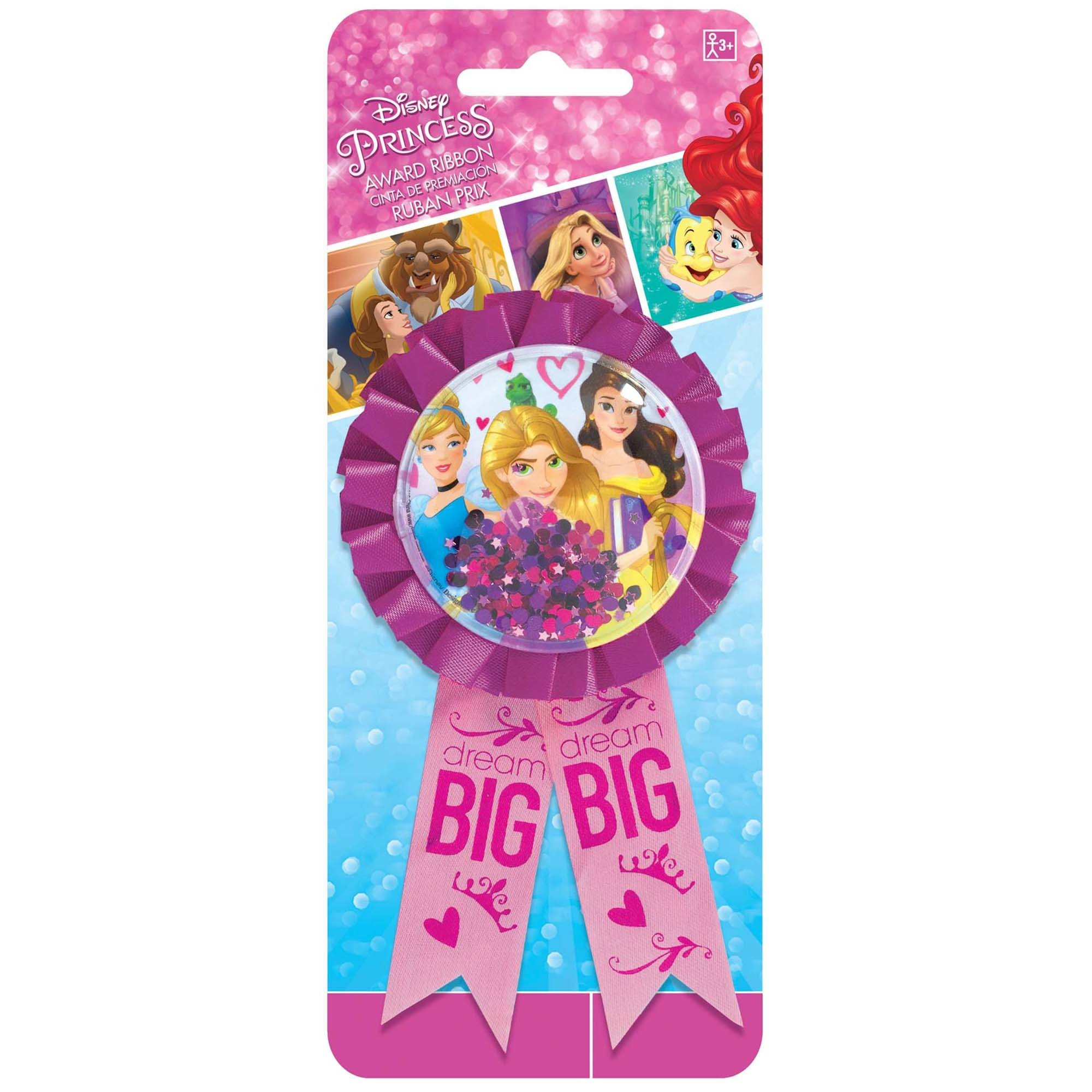 Disney Princess Dream Big Confetti Award Ribbon