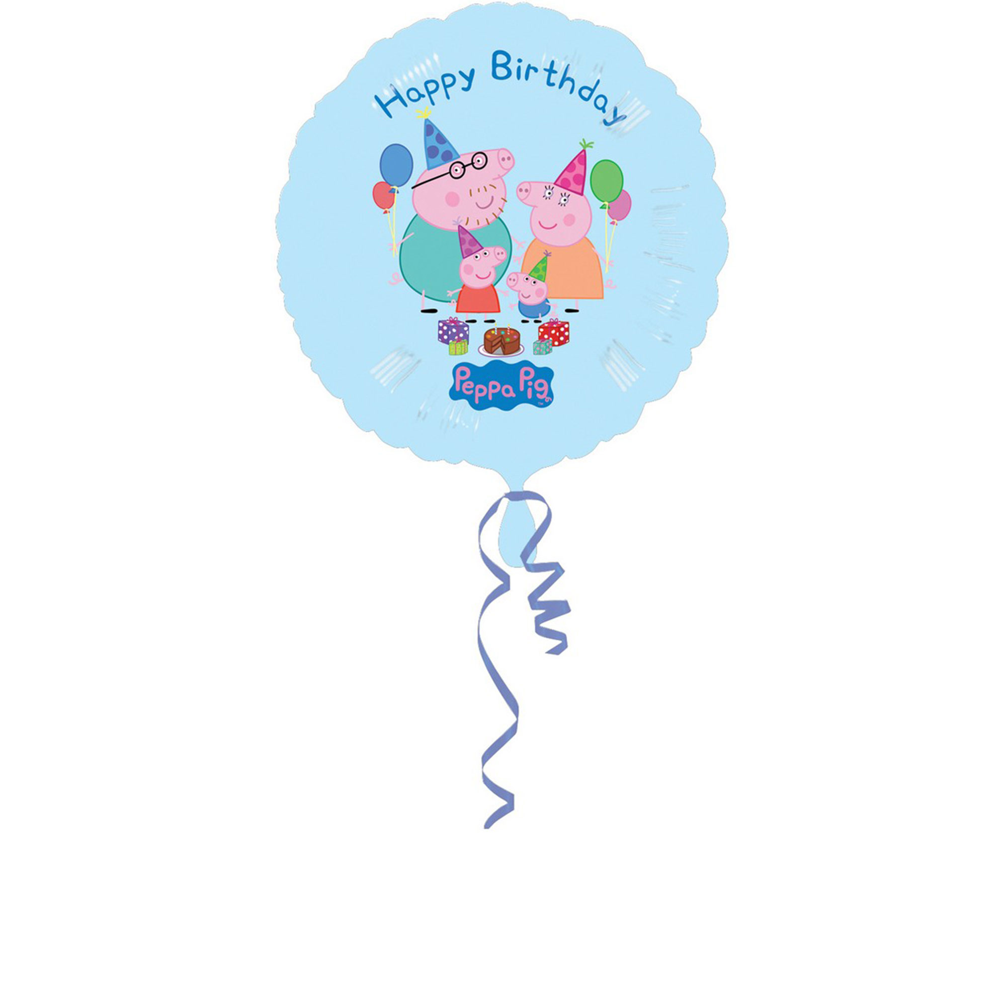 45cm Standard Peppa Pig Happy Birthday S60 Un-Packaged