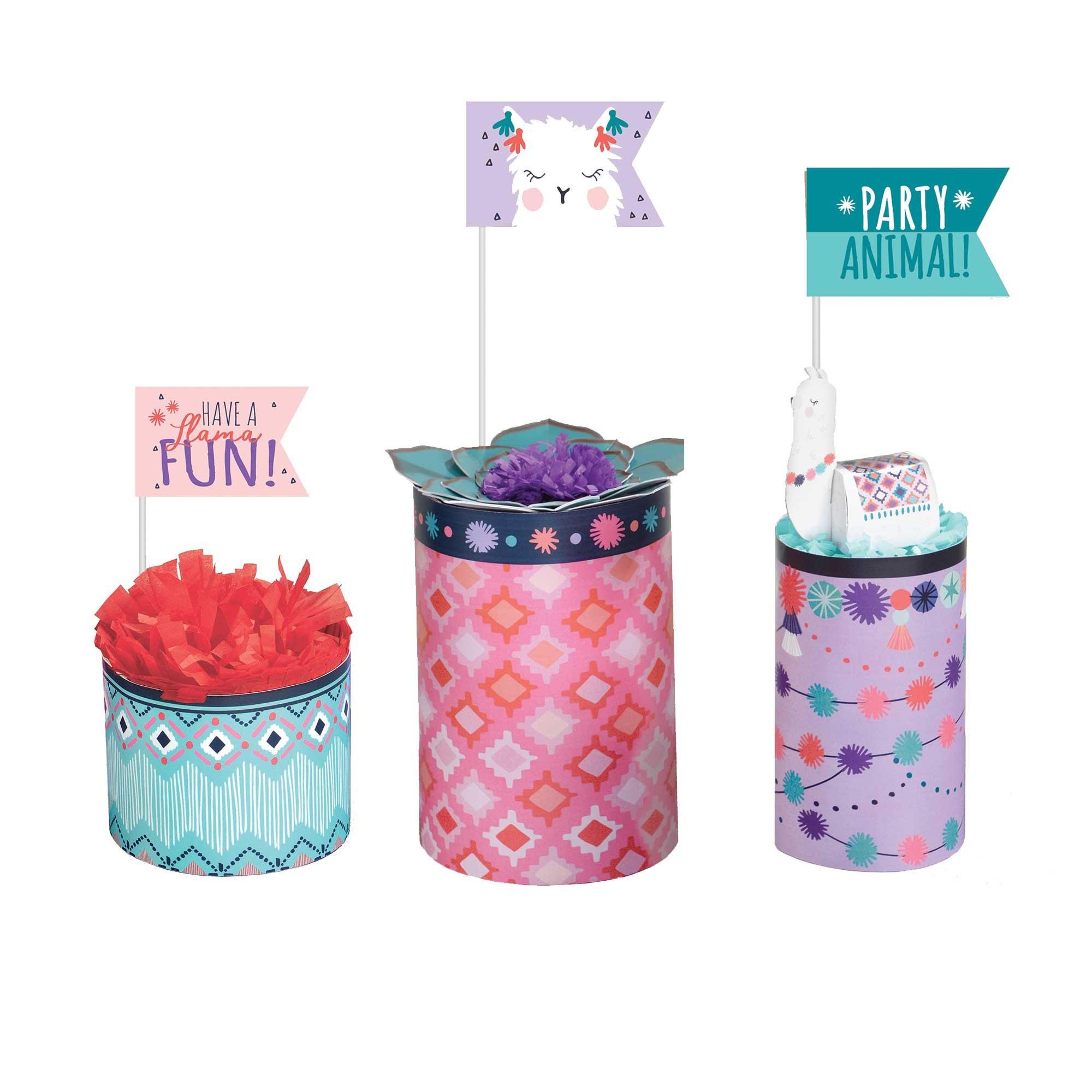 Llama Fun Centrepiece Decorating Kit