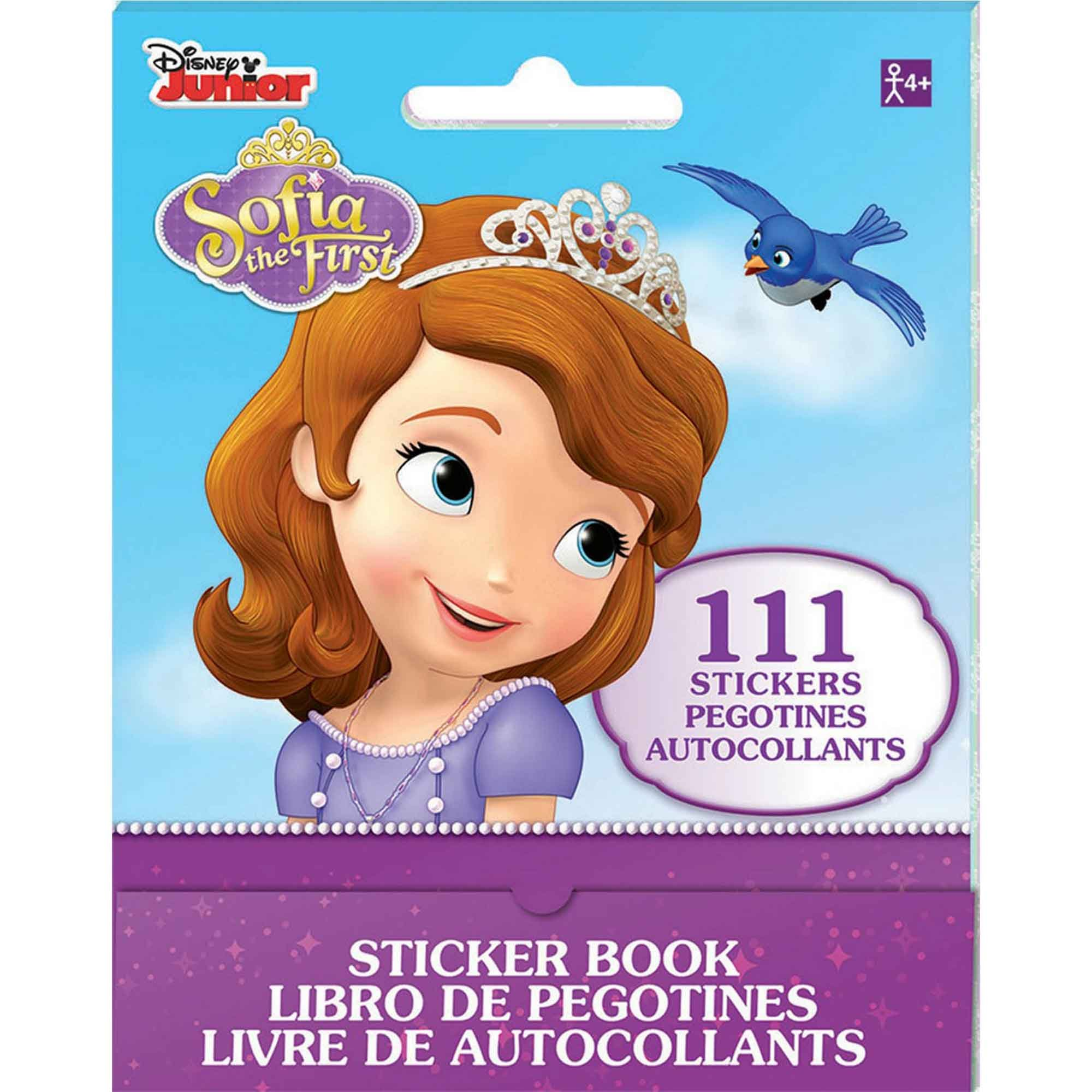Sticker Booklet Sofia The First