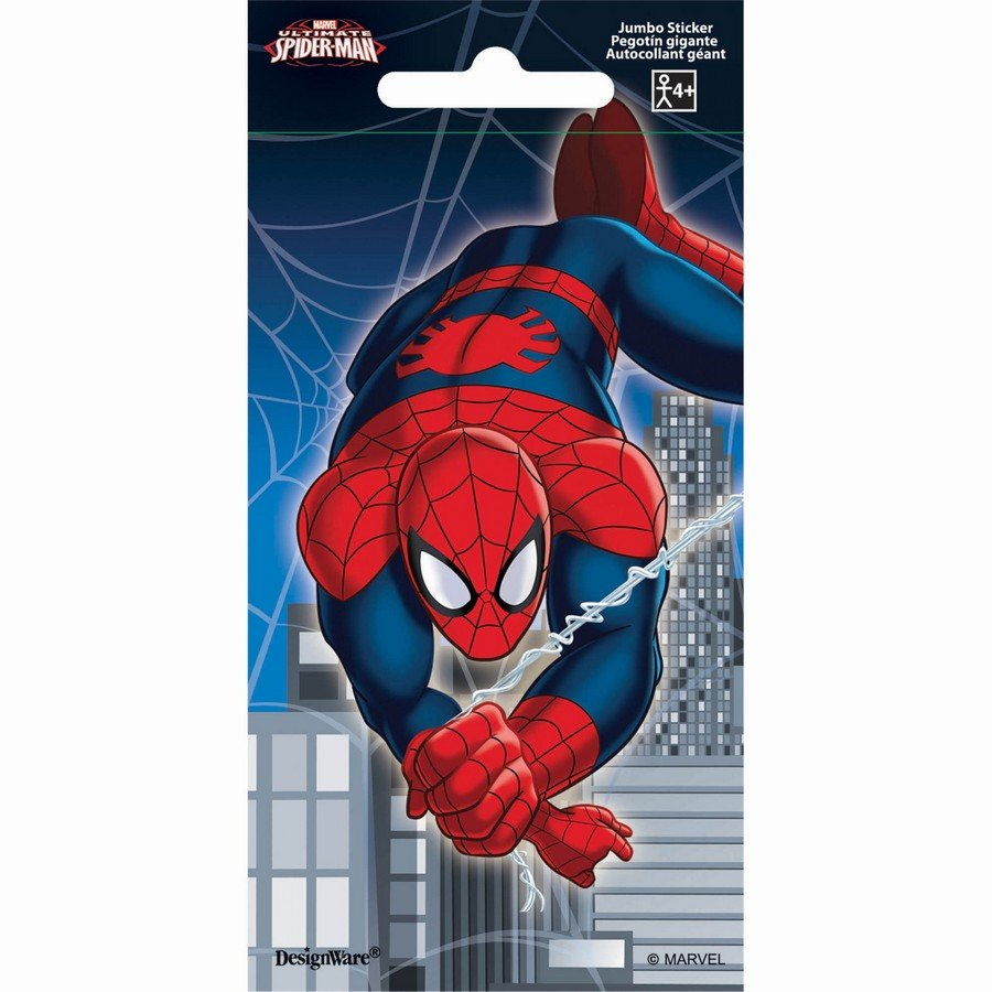 Stickers Jumbo Favor Spider-Man