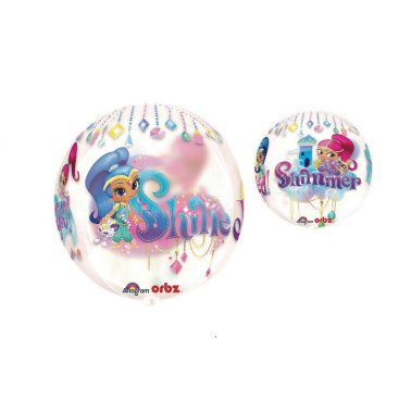 Orbz XL Shimmer and Shine Clear G40