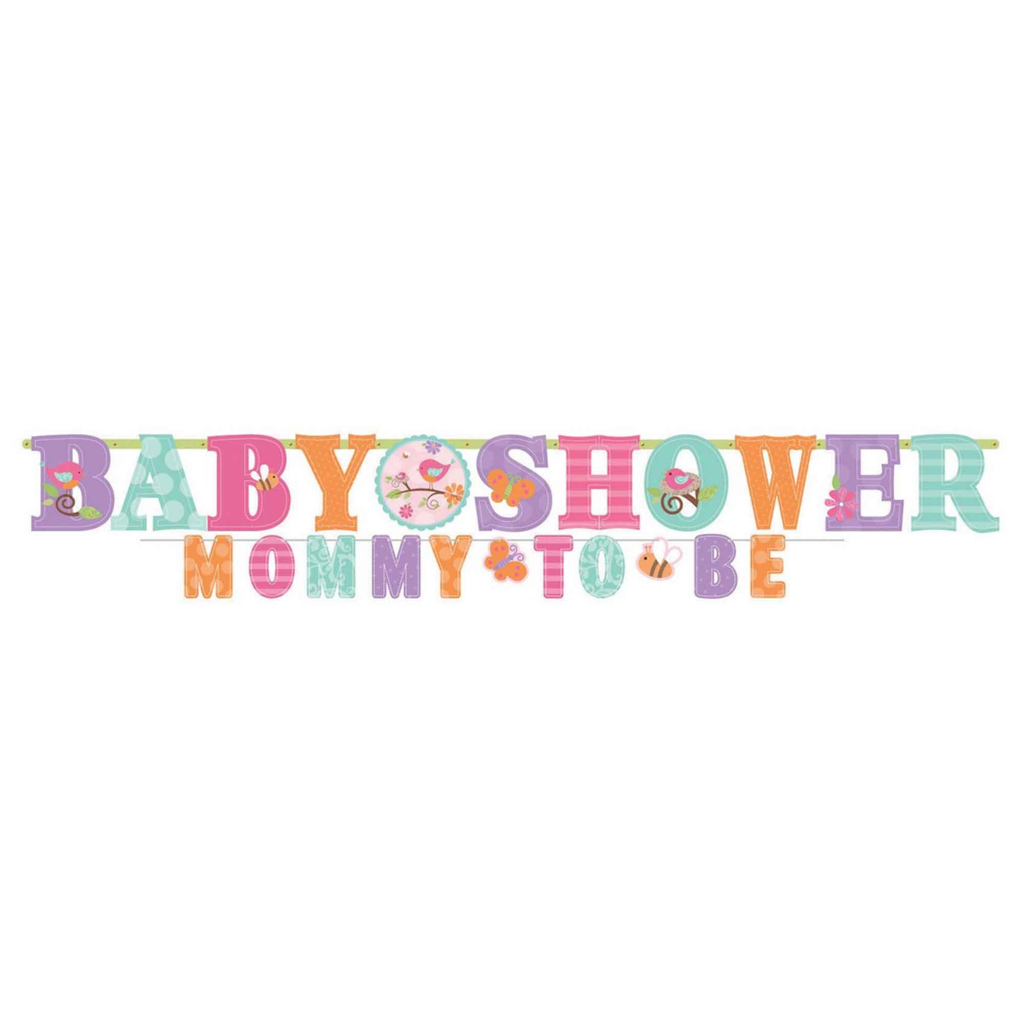 Tweet Baby Girl Letter Banner
