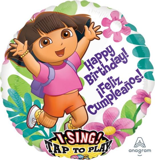 Sing-A-Tune Dora Happy Birthday I Feliz Cumpleanos P75