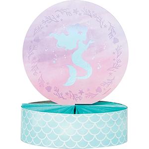 Mermaid Shine Iridescent Centrepiece Honeycomb