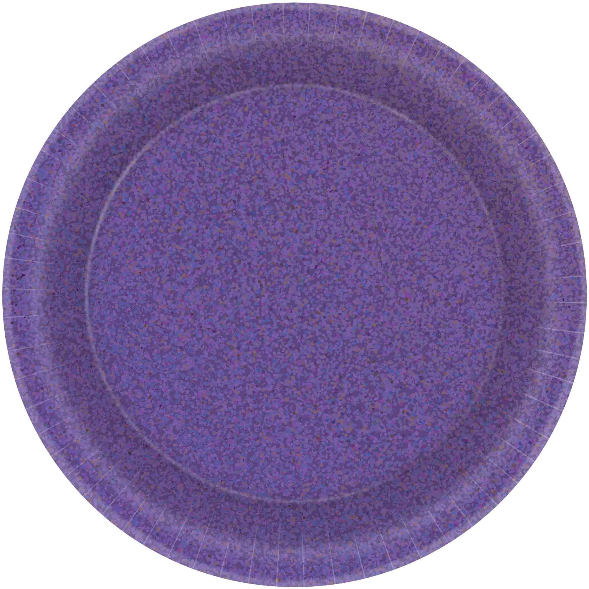 Prismatic 17cm New Purple Round Plates