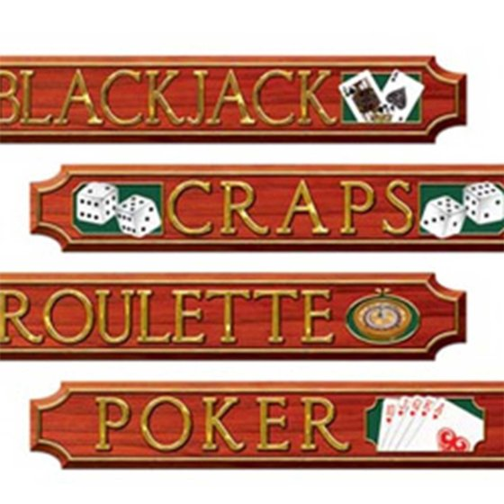Casino Signs Cutouts