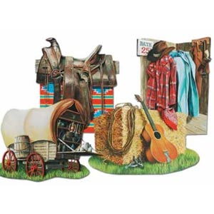 Western Cowboy Cutouts