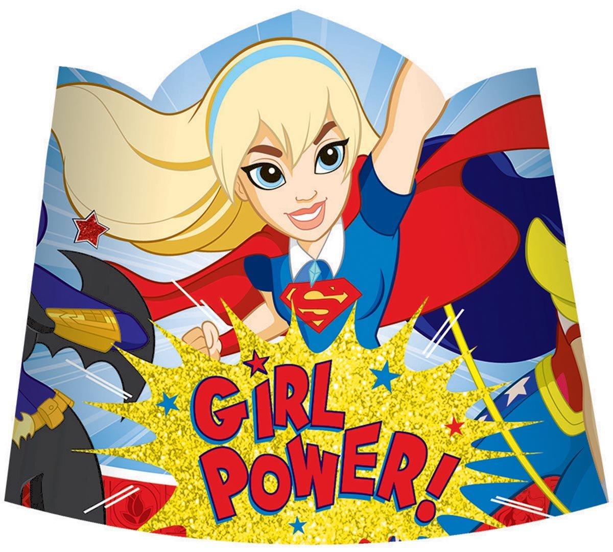 DC Superhero Girls Paper Tiaras