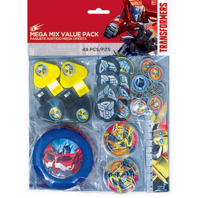 Transformers Core Mega Mix Value Pack Favors