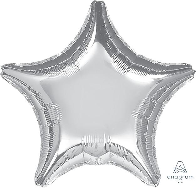 Jumbo Shape Silver Star P20