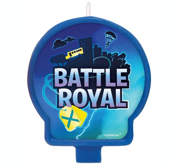 Battle Royal Birthday Candle
