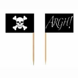 Pirate Flags Picks 2 Sided Design