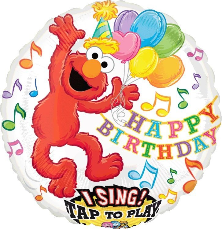 Sing-A-Tune Elmo Birthday P75