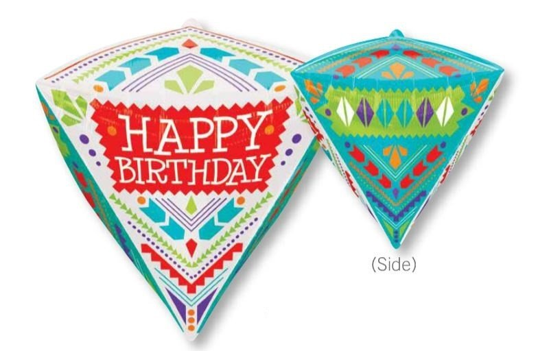 UltraShape Diamondz Scandi Happy Birthday G20