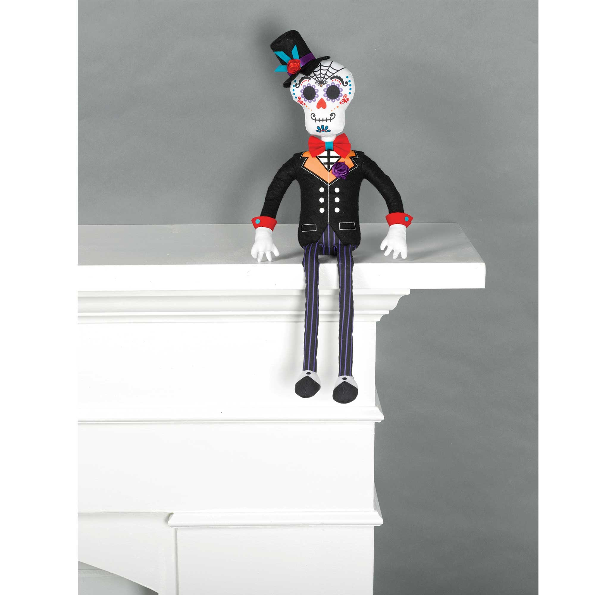 Critter Sitter Day of the Dead Groom Prop Decoration Fabric