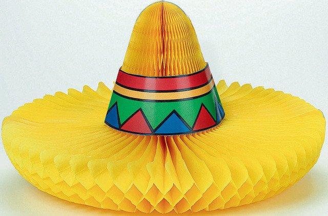 Sombrero Honeycomb Centrepiece
