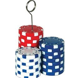 Photo Holder Balloon Weight Poker Chips