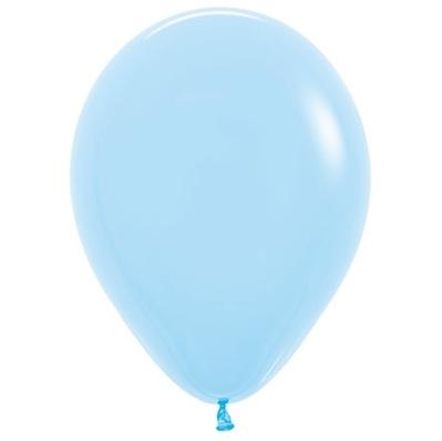 Sempertex 12cm Fashion Light Blue Latex Balloons 039, 50PK