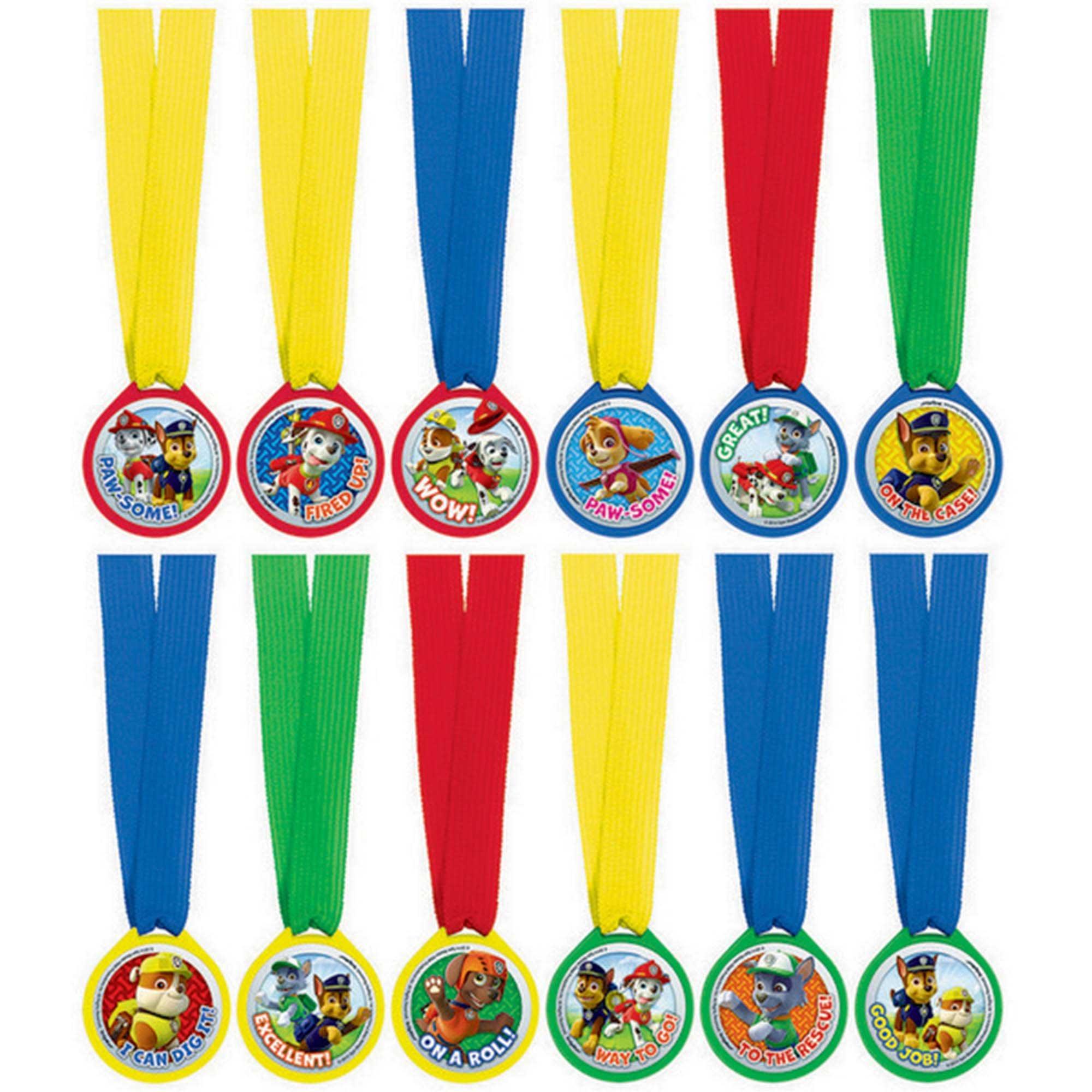 Paw Patrol Mini Award Medal Favors